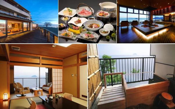 奥琵琶湖 尾上温泉 旅館 紅鮎(露天風呂付き客室)