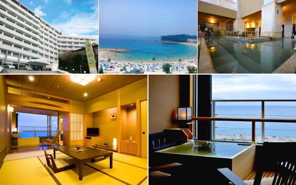 南紀白浜温泉 ホテル三楽荘(露天風呂付き客室)