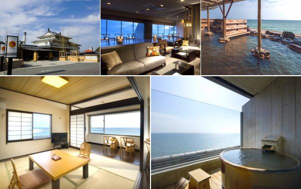 THE BEACH KUROTAKE(露天風呂付き客室)