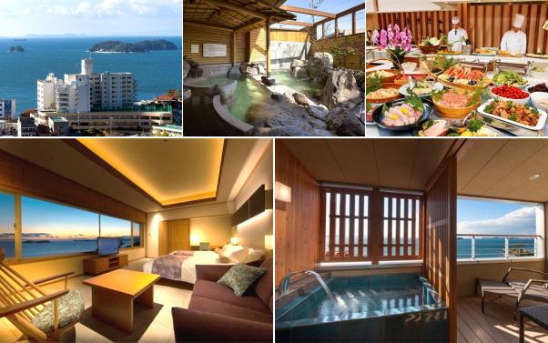 三谷温泉 ホテル明山荘(露天風呂付き客室)