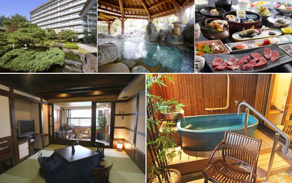 高山グリーンホテル(露天風呂付き客室)