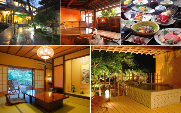 飛騨高山温泉 花扇別邸いいやま(露天風呂付き客室)