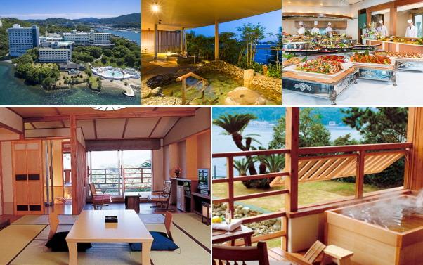 鳥羽シーサイドホテル(露天風呂付き客室)