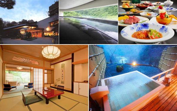会津芦ノ牧温泉 丸峰観光ホテル(露天風呂付き客室)