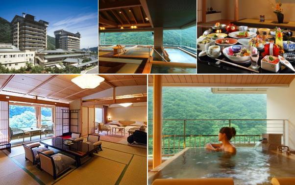 磐梯熱海温泉 ホテル華の湯(露天風呂付き客室)