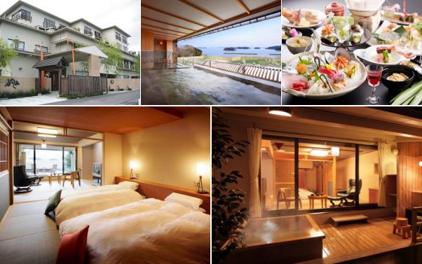 松島温泉 ホテル海風土(露天風呂付き客室)