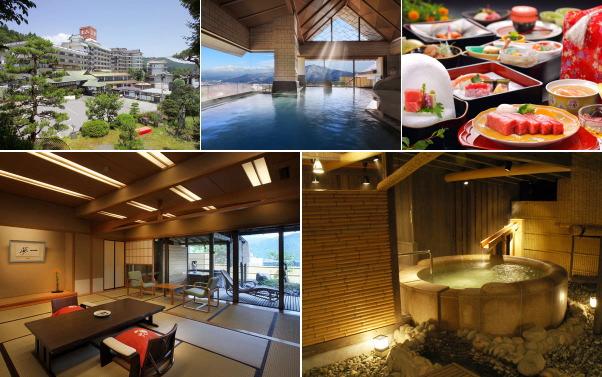 かみのやま温泉 日本の宿 古窯(露天風呂付き客室)