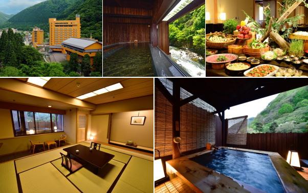 湯瀬ホテル(露天風呂付き客室)