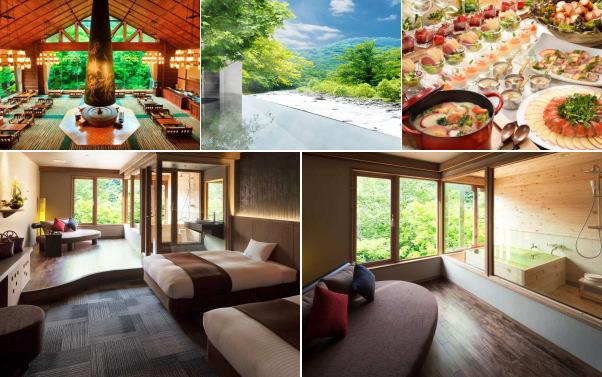 十和田湖温泉郷 星野リゾート 奥入瀬渓流ホテル(露天風呂付き客室)