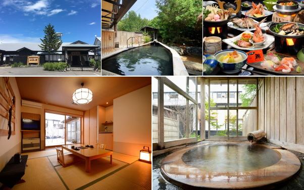 津軽 鯵ヶ沢温泉 水軍の宿(露天風呂付き客室)