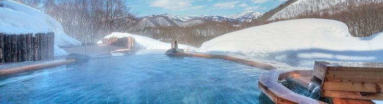 スキー場直結・ゲレンデすぐの温泉付ホテル