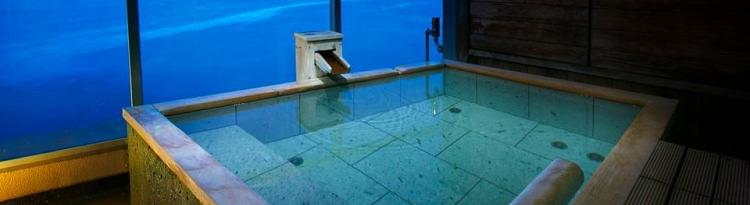 露天風呂付き客室のイメージ(伊豆稲取温泉 浜の湯)