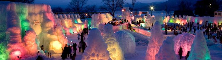 冬まつり・雪まつりと周辺ホテル