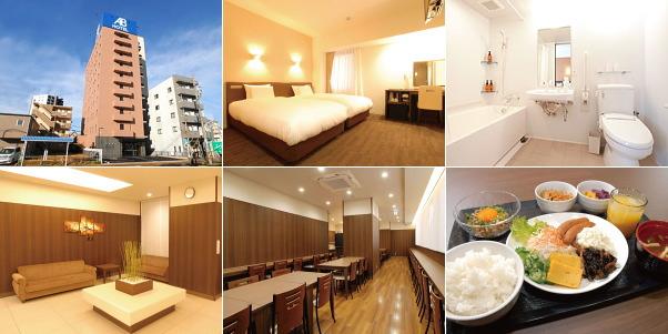 ABホテル三河豊田(バリアフリーのお部屋ほか)