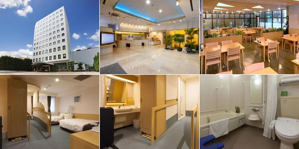 尾道国際ホテル(バリアフリーのお部屋ほか)