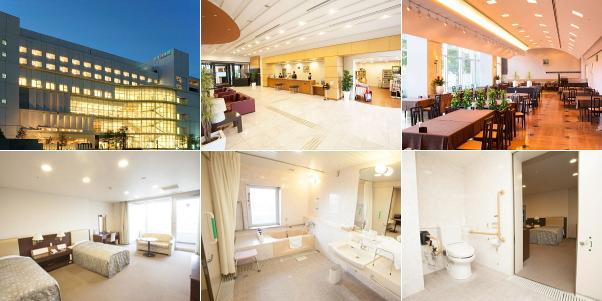 ホテルメルパルク熊本(バリアフリーのお部屋ほか)