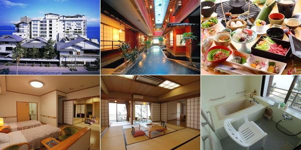 花の温泉ホテル 吟松(バリアフリーのお部屋ほか)
