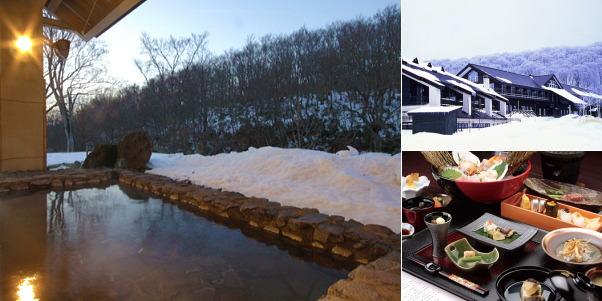 八甲田 ホテル城ヶ倉(雪見露天風呂)