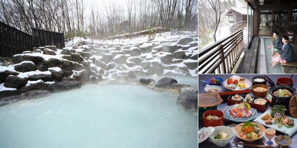 蔵王温泉 蔵王国際ホテル(雪見露天風呂)