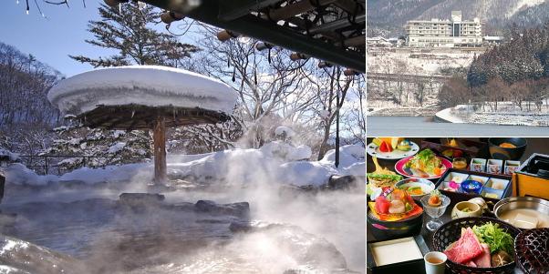 猿ヶ京ホテル(雪見露天風呂)
