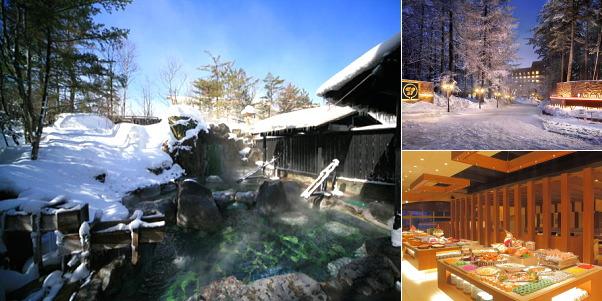 草津ナウリゾートホテル(雪見露天風呂)