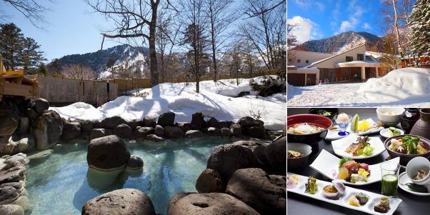 奥日光 森のホテル(雪見露天風呂)