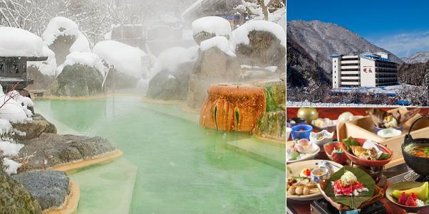 新平湯温泉 奥飛騨ガーデンホテル焼岳(雪見露天風呂)