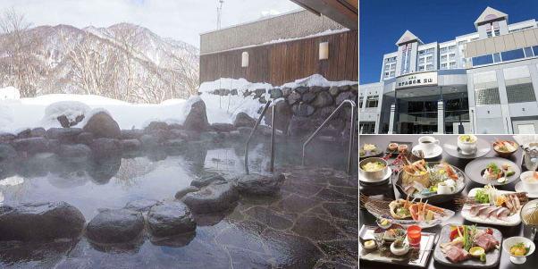 あわすの温泉 ホテル森の風立山(雪見露天風呂)