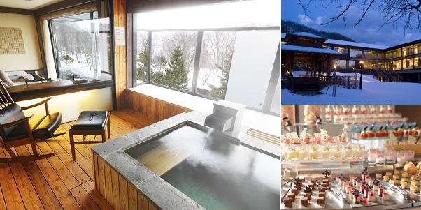 しこつ湖鶴雅リゾートスパ 水の謌(雪見露天風呂)