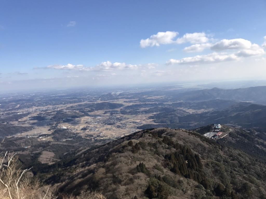 女体山からの眺め