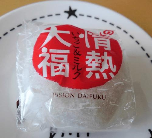 情熱大福 いちご&ミルク