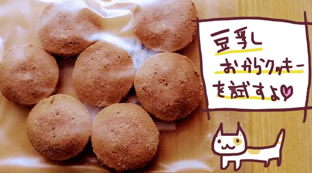 バイフィフティ豆乳おからクッキー