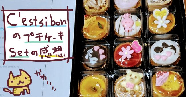 セシボンプチケーキセット