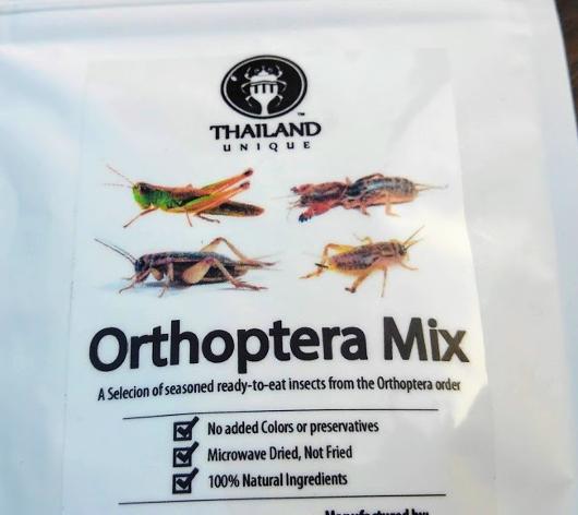 4種のバッタミックス(Orthoptera mix)