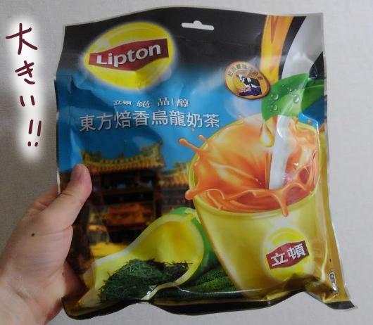 台湾リプトン ウーロンミルクティー