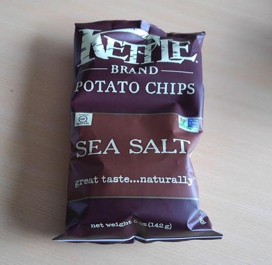 Kettle Foods ポテトチップス シーソルト