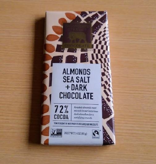 Endangered Species Chocolate アーモンドシーソルト+ダークチョコレート
