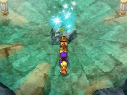 滝の洞窟最深部