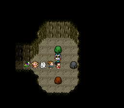 3つの岩から1つ選ぶ