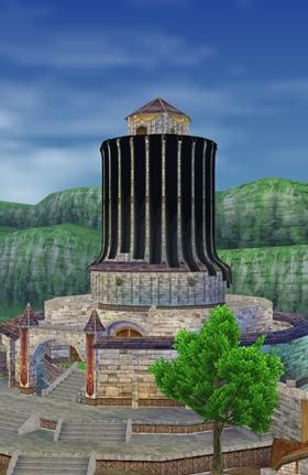 喪服の城から…