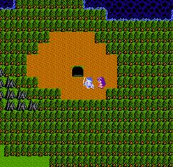 ラダトーム北の洞窟