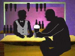 男は酒好き