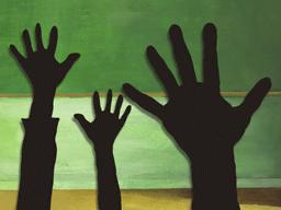 生徒全員挙手