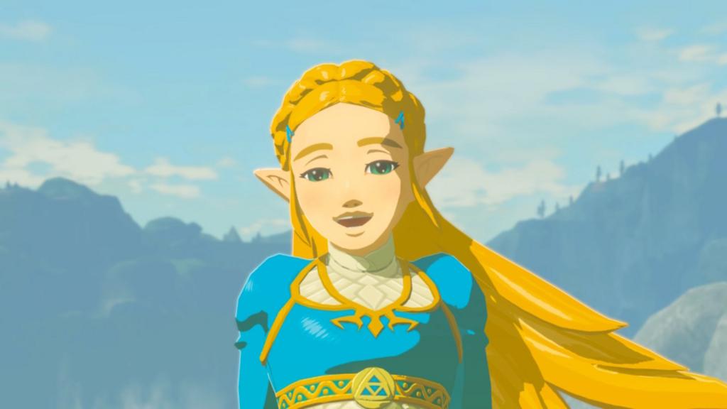 ゼルダ姫の真の笑顔