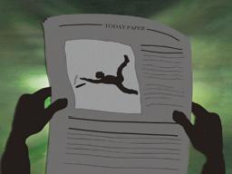 転倒を新聞報道