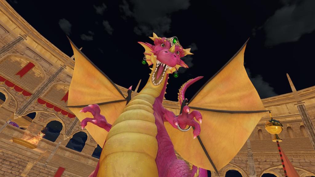 ドラゴン変身