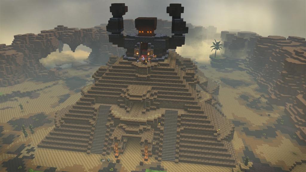 ピラミッド完成