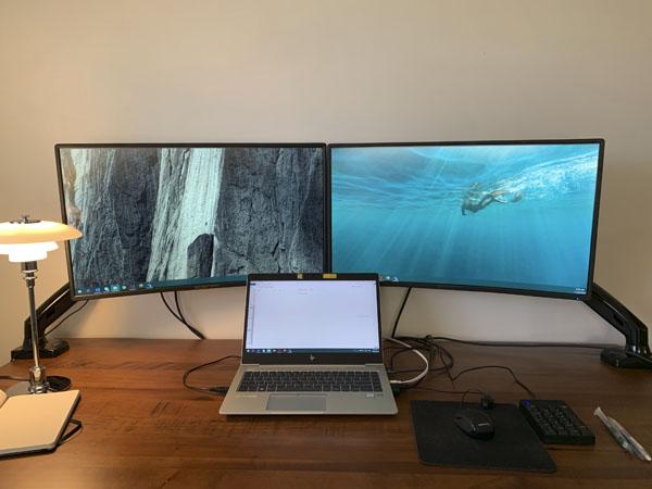 私の自宅オフィスです
