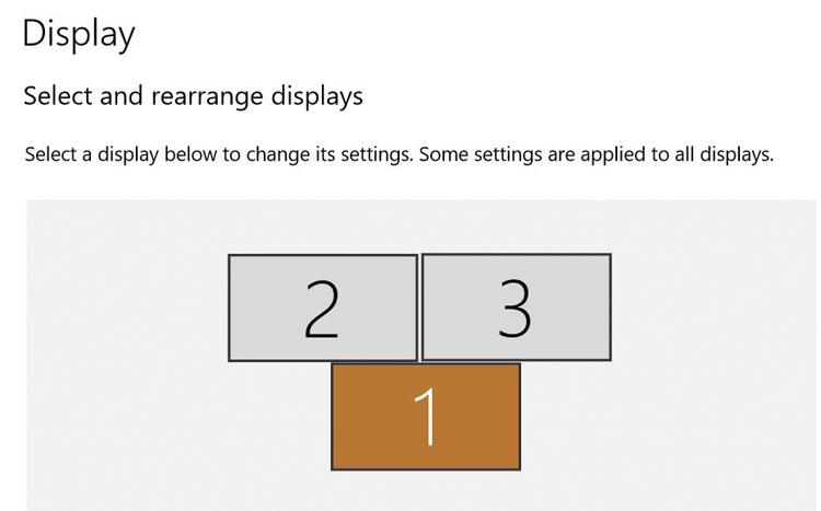 ディスプレイ設定 Windows10
