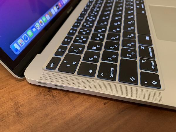 MacBook Airの ThunderBolt3 端子